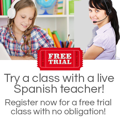 free trial spanish class online