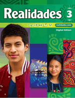 Realidades Book 3, front cover