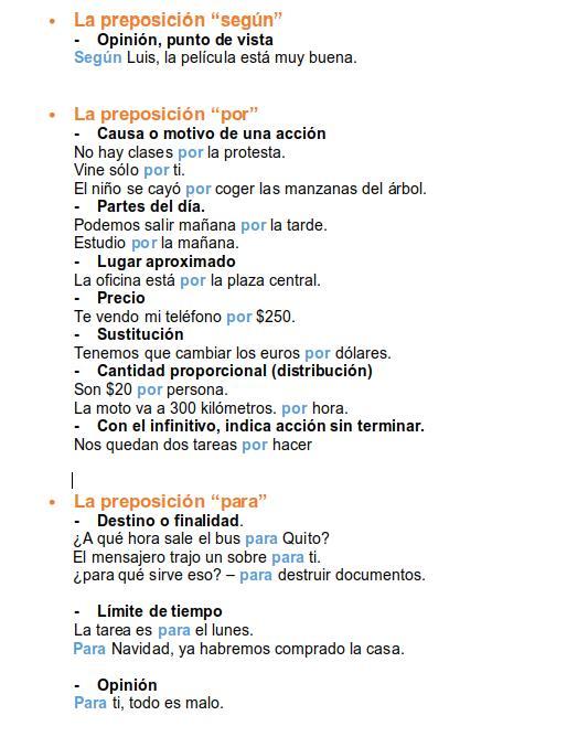 spanish prepositions 4